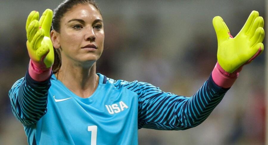 Hope Solo modtog i 2013 Fifas pris for årets bedste kvindelige fodboldspiller.