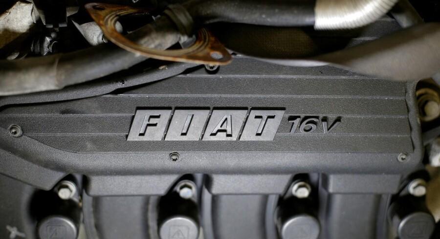 Bilverdenen er den nye slagmark for de store teknologiproducenter. Derfor forhandler Samsung nu om at købe en bid af den italienske Fiat-koncern for at få bedre fodfæste. Arkivfoto: Max Rossi, Reuters/Scanpix