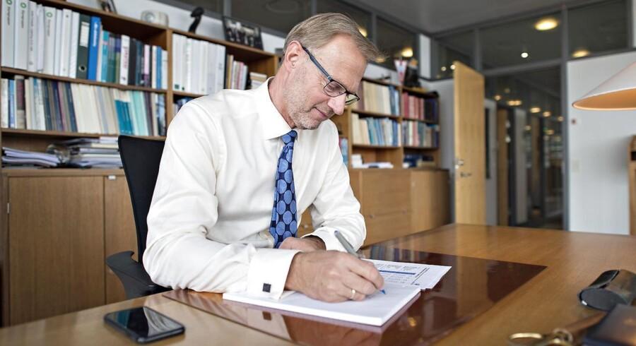 Arkivfoto af ordførende direktør i Jyske Bank, Anders Dam.