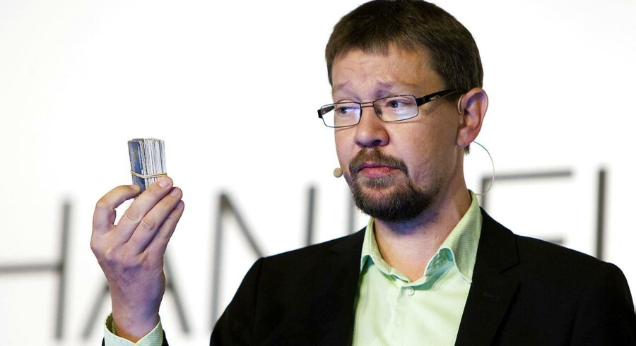 Martin F. Andersen, direktør for Swipp, er næppe glad for de økonomiske tal bag Swipp.