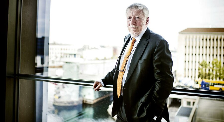Peter Lybecker, adm. direktør for Nordea Danmark vil have medindflydelse i Mobilepay.