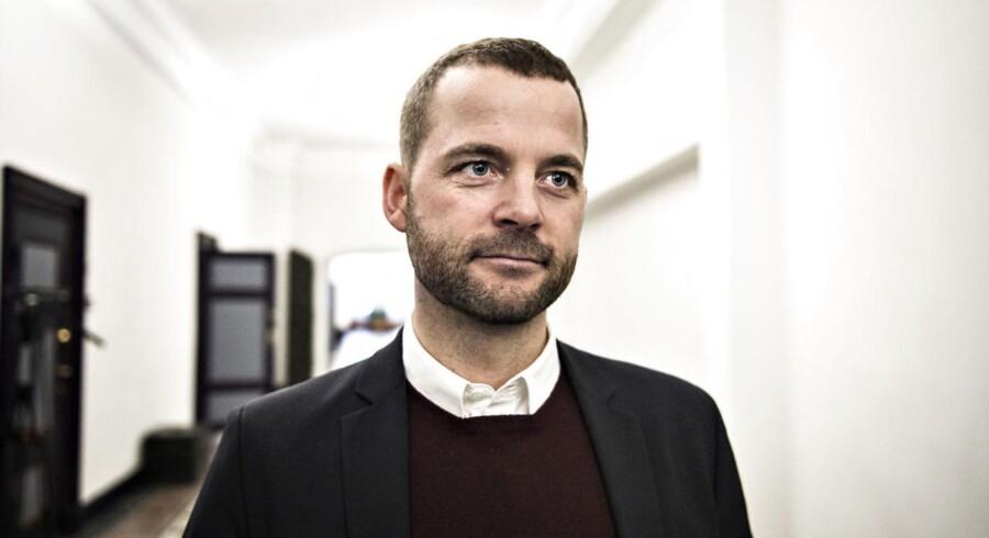 Formand for Radikale Venstre, Morten Østergaard.