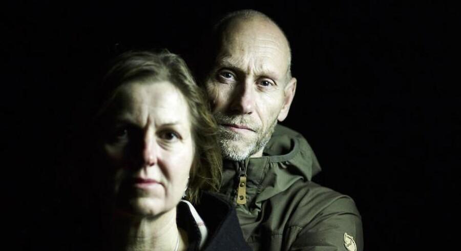 Dan Prangsgaard og Dorte Nøhr Prangsgaard var med det SAS fly mod Rom som kom tæt på et russisk spionfly