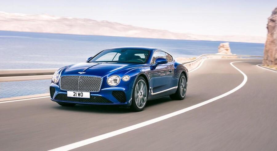 Den nye luksuscoupé er tredje generation, men denne gang er den lettere og mere dynamisk. Bentley lægger ud med en W12 med 635 hk
