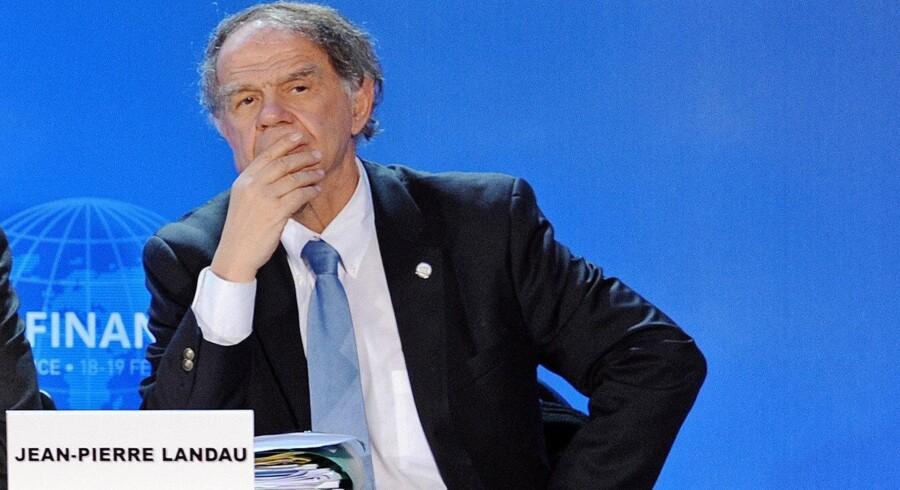 Økonomiprofessor Jean-Pierre Landau , der længe har været skeptisk over for kryptovalutaer, skal vejlede den franske regering. Arkivfoto: Miguel Medina/AFP