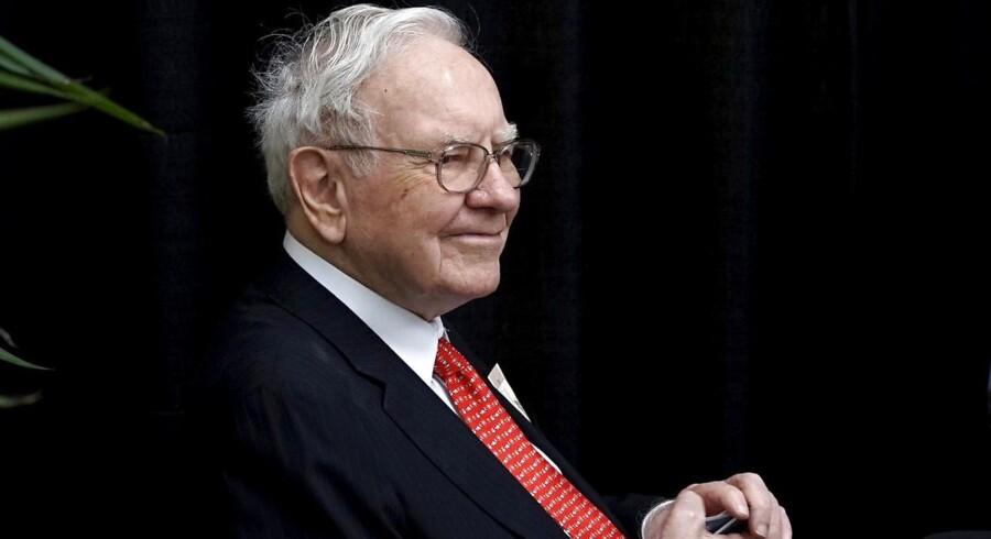 Den amerikanske storinvestor Warren Buffett.