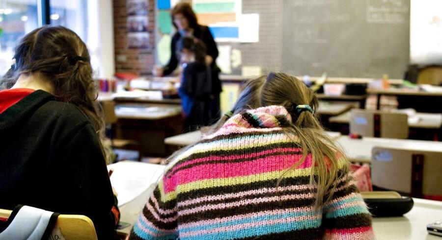 Arkivfoto: Registrering af eleverne time for time og sms'er til forældrene er bare nogle af metoderne.