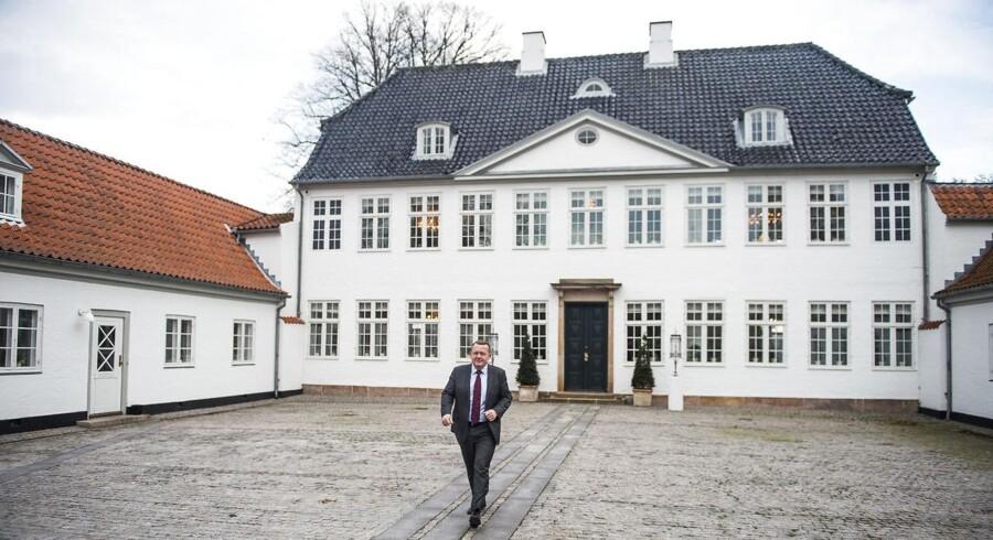 Statsminister Lars Løkke Rasmussen inviterer mandag til møde om fremtidens arbejdsmarked på Marienborg