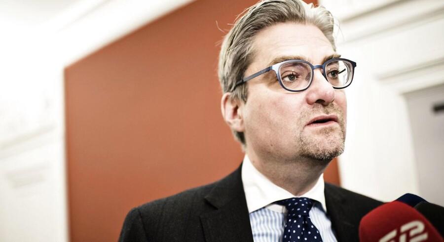 Justitsminister, Søren Pind.