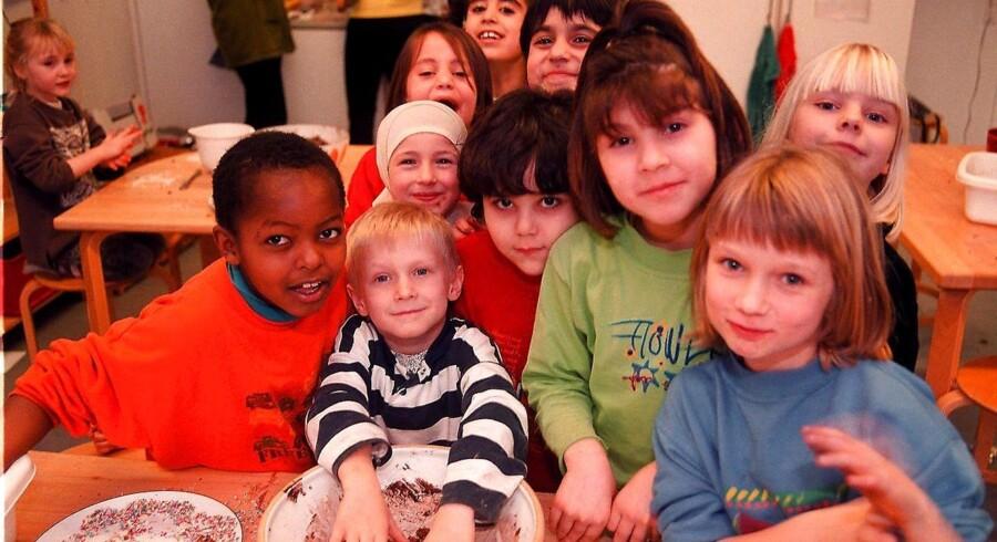 Børn fra Hedeboparkens Fritidscenter Roskilde.