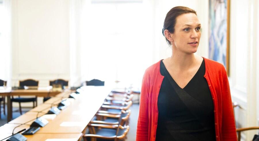 Arkivfoto: Undervisningsminister Merete Riisager (LA) besøger tirsdag Carolineskolen i København.