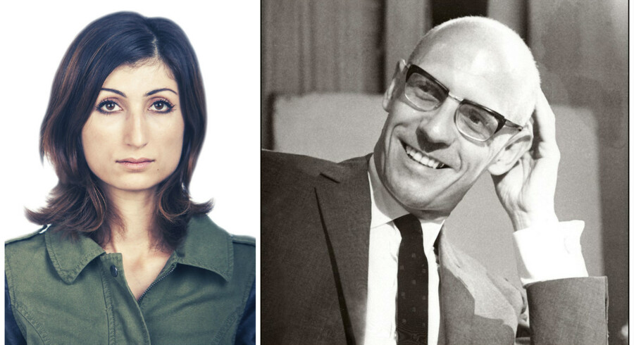 Michel Foucault. Foto: Scanpix Danmark og Jonas Skovbjerg FOgh.