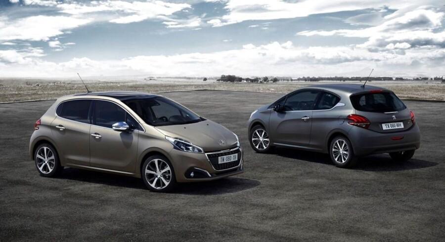 Den franske mini er endnu engang den mest solgte bil i Danmark