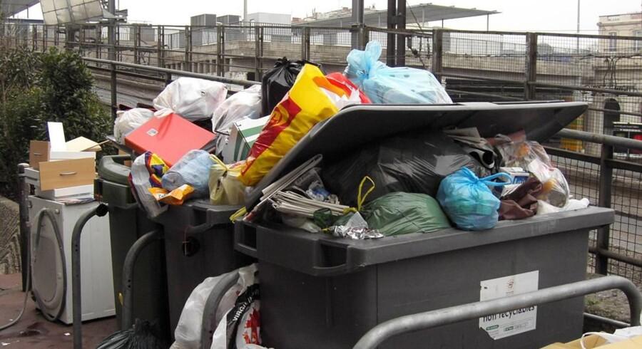 Med handlingsplanen bliver der stillet krav til, hvor meget affald EU-landene skal genanvende i 2030. Free/Www.colourbox.com