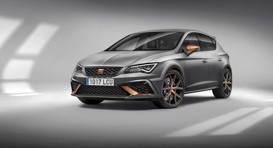 Det bliver kun til 799 eksemplarer af den nye topmodel hos Seat, Leon Cupra R. Det vil mange fans af mærket blive kede af at høre
