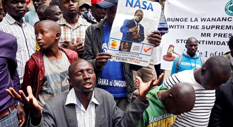 1. september besluttede Kenyas højesteret at annullere præsidentvalget, der blev afholdt 8. august.