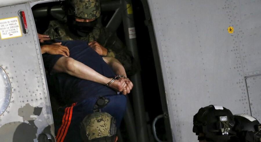 El Chapo er igen under lås og slå.