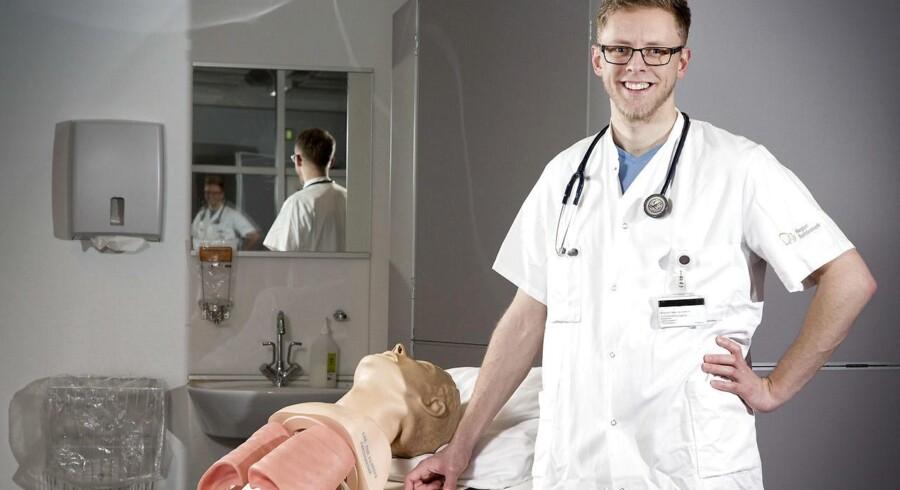 Søren Rosenlund Petersen er færdiguddannet læge på torsdag og blev i sin tid optaget via SDU's kvote 2-model.