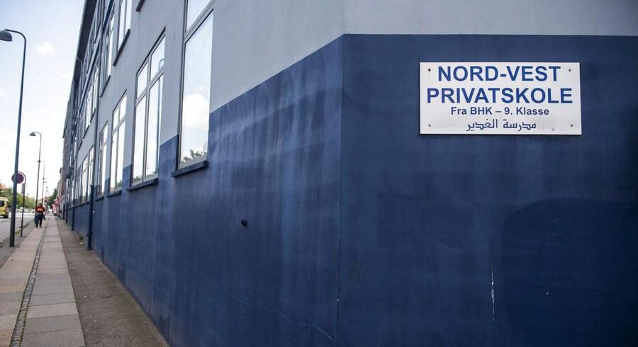 Nord-Vest Privatskole er i overhængende fare for at miste statstilskuddet, som i 2016 beløb sig til 11,6 mio. kroner.