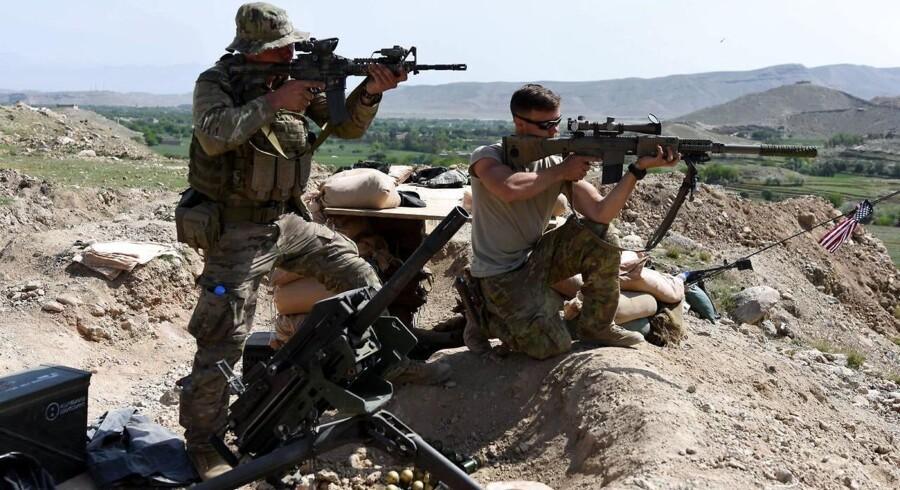 Amerikanske soldater i Afghanistan (arkivfoto)