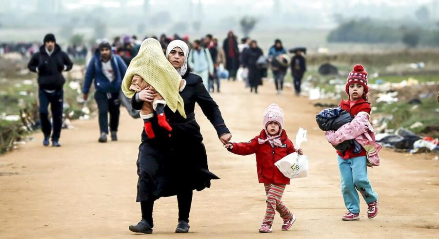 I kølvandet på de seneste års massive flygtningestrømme til Europa er fordelingen af flygtninge blevet en central debat i EU. Arkivfoto: Ognen Teofilovski/Reuters
