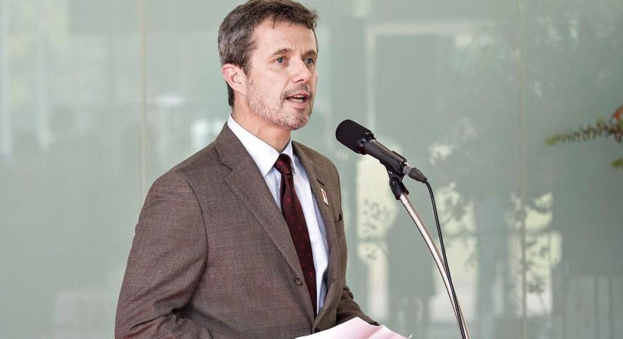 Kronprins Frederik blev i september genvalgt som medlem af Den Internationale Olympiske Komité (IOC).