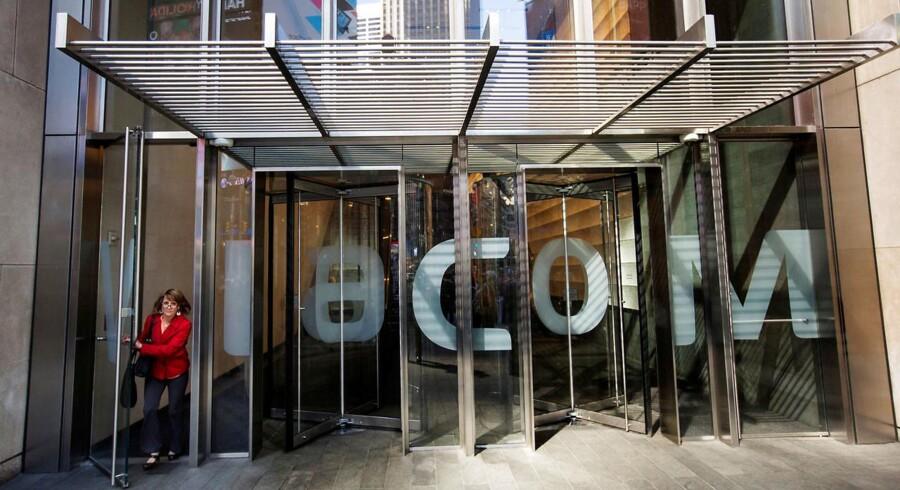 Viacom Inc. hovedkvarter i New York, U.S. 30. April, 2013. REUTERS/Lucas Jackson/File Photo