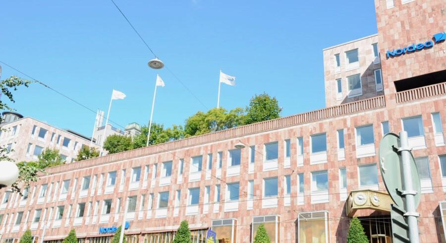 Nordeas hovedkvarter ligger i dag i Stockholm. Men inden for et år vil et nyt hovedkvarter være etableret i Helsinki i Finland. Free/Nordea/arkiv