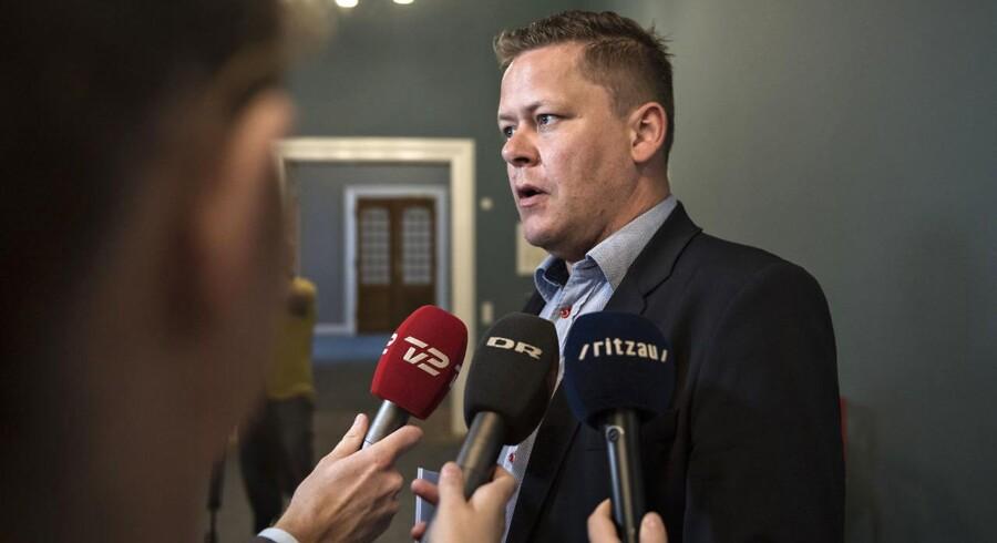 Dansk Folkepartis skatteordfører Dennis Flydtkjær