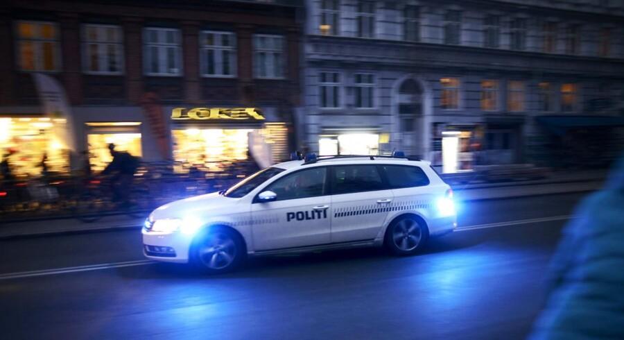Det er formentlig en 26-årig mand fra nærområdet, der var mål for et skyderi sent søndag aften på Ydre Nørrebro, oplyser politiet, arkivfoto.