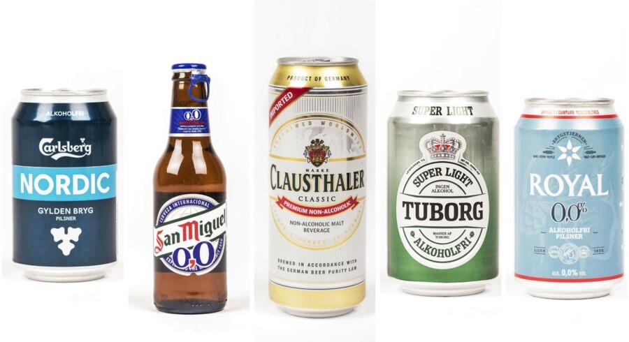 Hvis man er glad for øl, men også gerne vil være frisk i hovedet, kunne køre bil eller tabe sig, så er livet blevet nemmere. De seneste år er der kommet flere varianter alkoholfri øl på supermarkedernes hylder. I denne uge har B Søndags testpanel smagt på forskellige alkoholfrie pilsnere.
