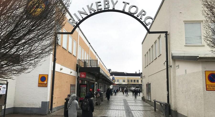 Rinkeby-bydelen i Stockholm er et af de områder i Sverige, der bliver udpeget som særligt udsatte og hærgede.