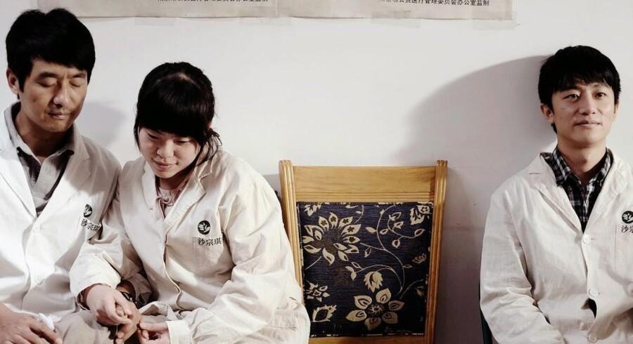 Cinemateket viser bl.a. »Blind Massage« om en massageklinik, hvor servicen tilbydes af blinde.Foto: PR