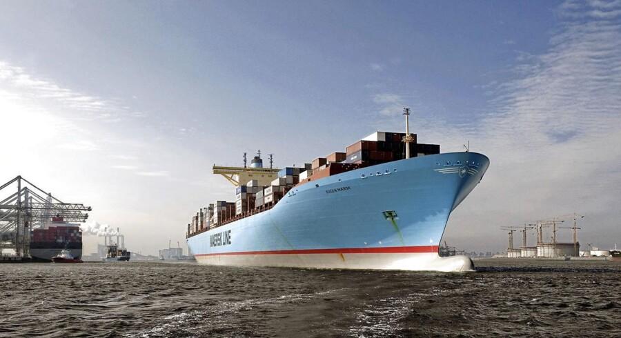 Skibet Safmarine Meru, som er ejet af danske Maersk Line, kolliderede lørdag med det tyskejede containerskib Northern Jasper ud for den kinesiske kyst.