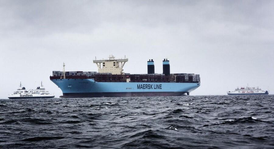 Mærsks havneforretning går i land