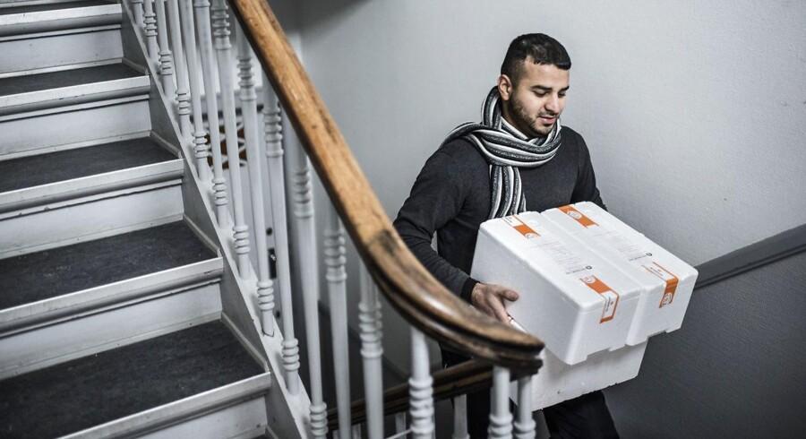 Jamil Peshraw har leveret måltider til danske hustande for retnemt.dk i et halvt års tid.