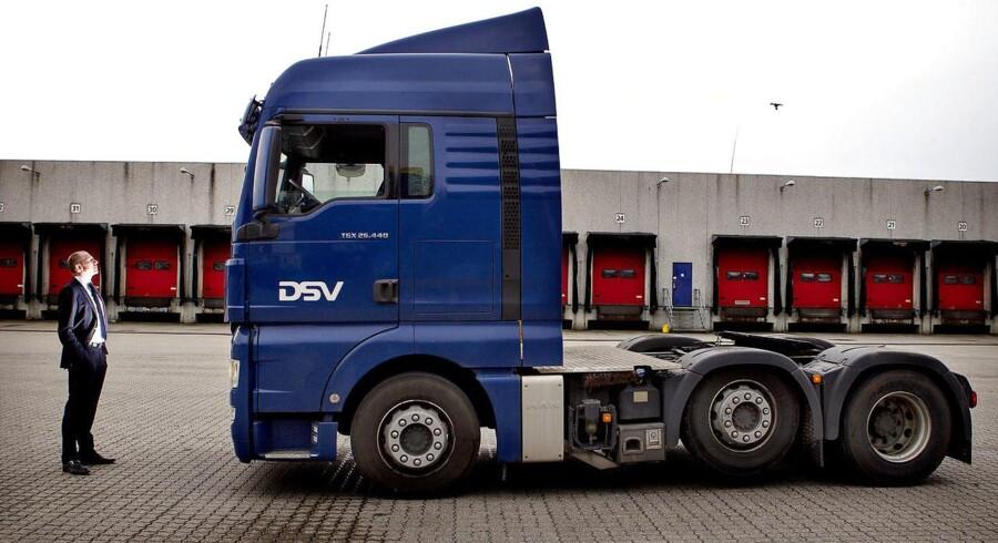 Transportselskabet DSV har overrasket positivt i år.