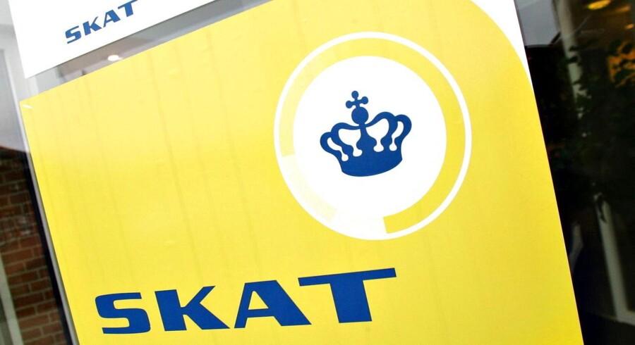 Ifølge EU-kommissionen har SKAT indkrævet over 12 milliarder for lidt i moms. FOTO: Claus Fisker/Scanpix