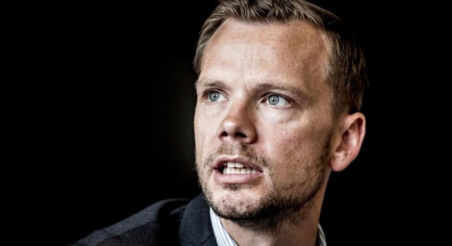 Peter Hummelgaard (S) angriber Løkkes europatale. Hvorfor kritiserer han ikke DF, lyder det.