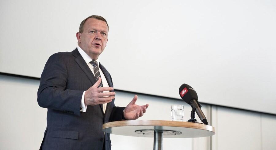 Arkivfoto: Regeringen vil lade en undersøgelseskommission granske Skat, siger statsminister Lars Løkke Rasmussen (V).
