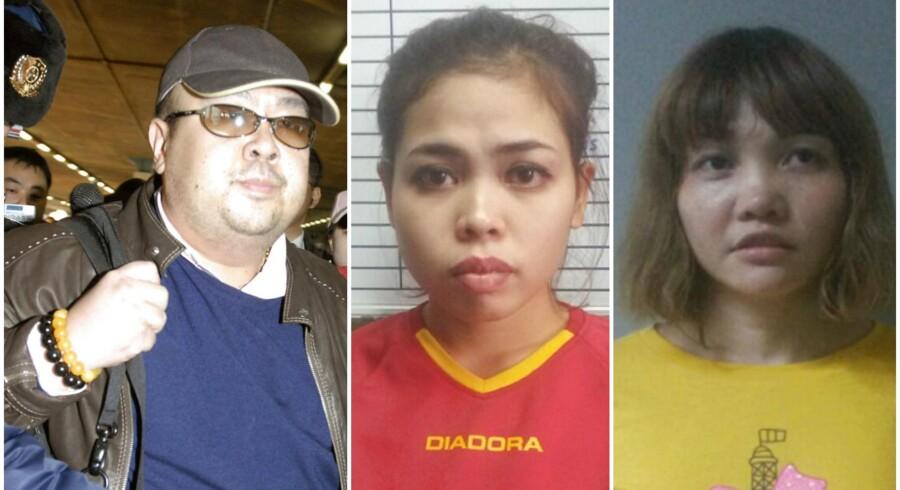 Kim Jong-nam var på vej til Macau i Kina fra Kuala Lumpur, men i lufthavnen blev han - at dømme ud fra optagelser fra overvågningskameraer - forgiftet af to kvinder.