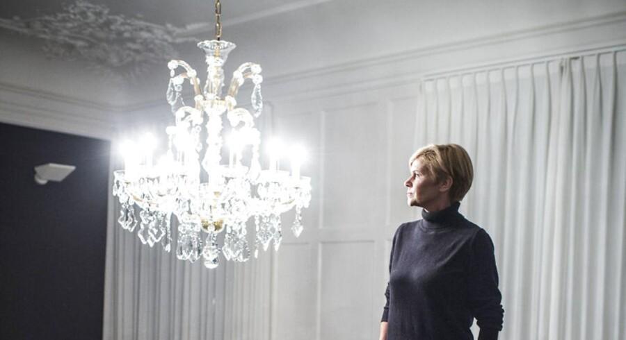 Portræt af kultur- og kirkeminister fra Liberal Alliance, Mette Bock.
