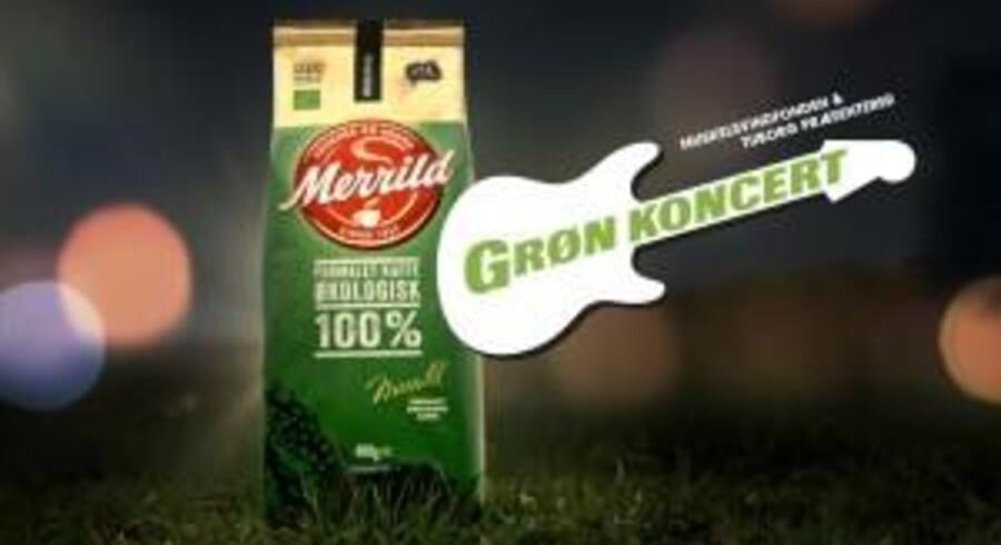 Merrild går sammen med Grøn koncert i et spændende partnerskab. Pressefoto: Merrild.dk