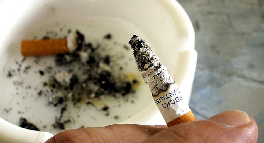 Arkivfoto: Rygning.