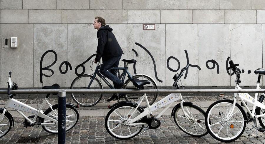 Bycykler i København.
