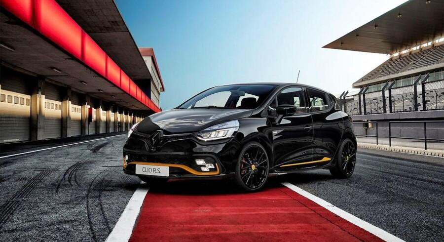 Renault Sport er tilbage - entusiaster kan se frem til en frisk køreoplevelse i den første R.S.-model, der når de danske forhandlere, Clio R.S. med 200 eller 220 hk