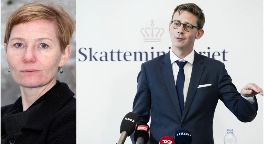 Skatteminister Karsten Lauritzen. Foto: Jens Nørgaard Larsen/Ritzau Scanpix