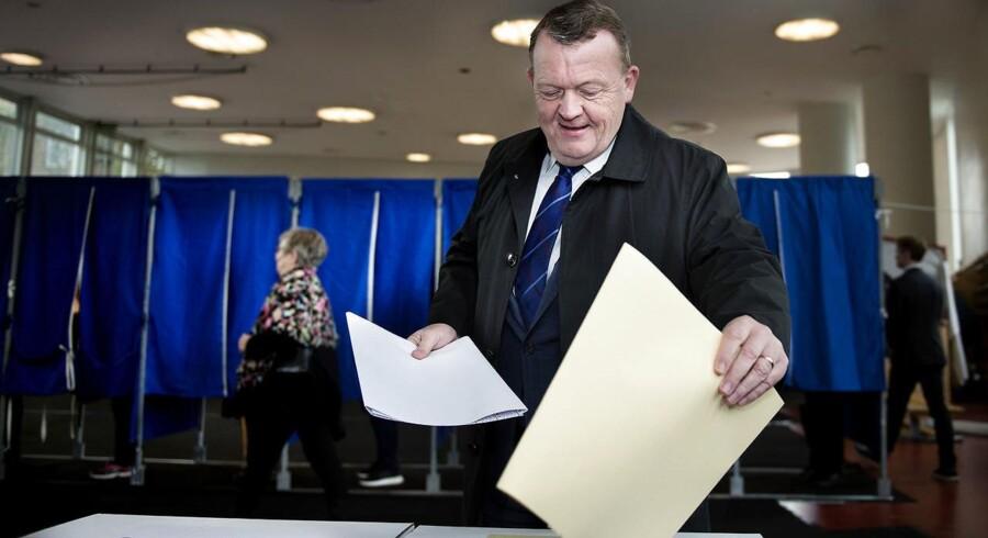 »Jeg tror ikke, jeg afslører nogen hemmelighed ved at sige, at jeg stemte på Venstre.«