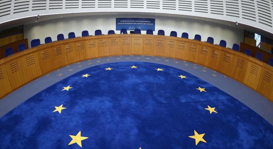 (ARKIV) Den Europæiske Menneskerettighedsdomstol i Strasbourg den 23. april 2015.