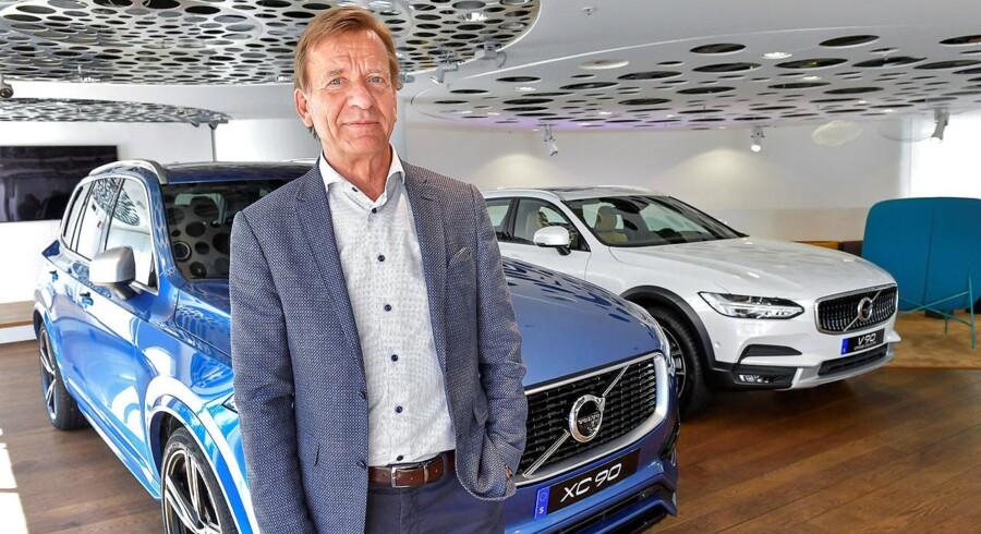 Håkan Samuelsson har genrejst et stykke svensk nationalstolthed som chef for Volvo Personbiler. Bilsalget sætter rekord, og om bare to år – i 2019 – skal alle nye Volvoer være el- eller hybridbiler.